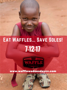 Eat Waffles...Save Soles! (1)